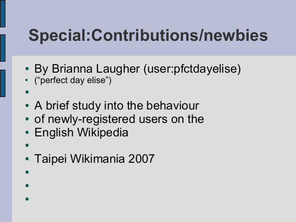 Special:Contributions/newbies slide