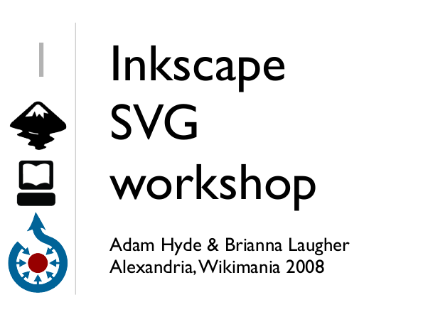 Inkscape SVG slide