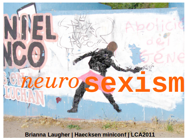 Neurosexism slide