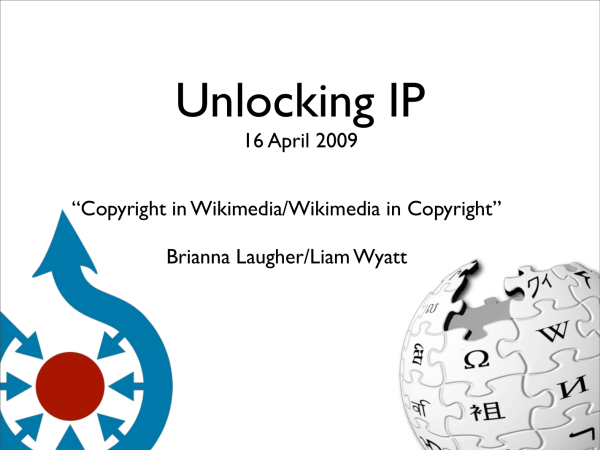 Copyright in Wikimedia slide