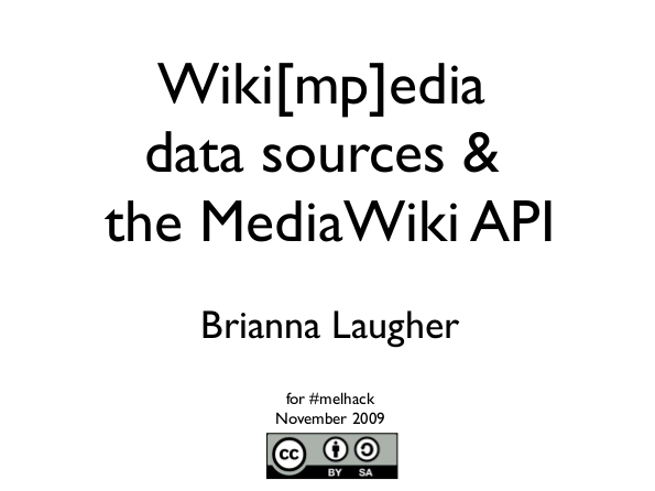 Wikimedia data sources slide